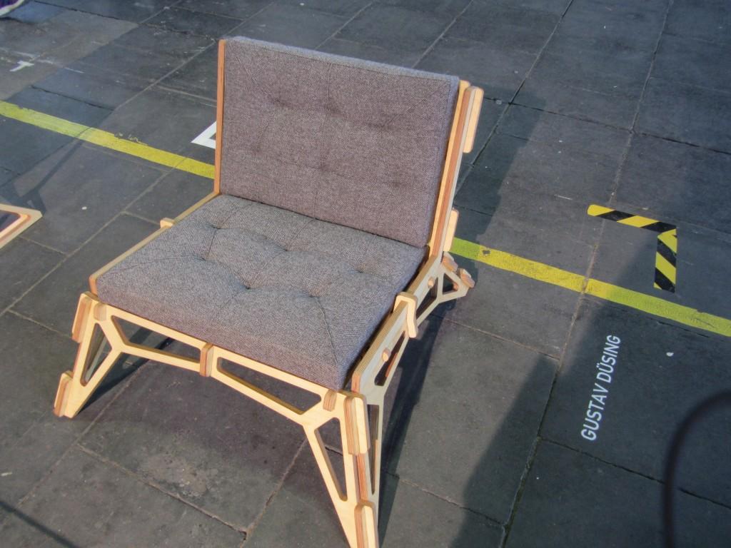 Detailaufnahme Chair 23D von Gustav Düsing