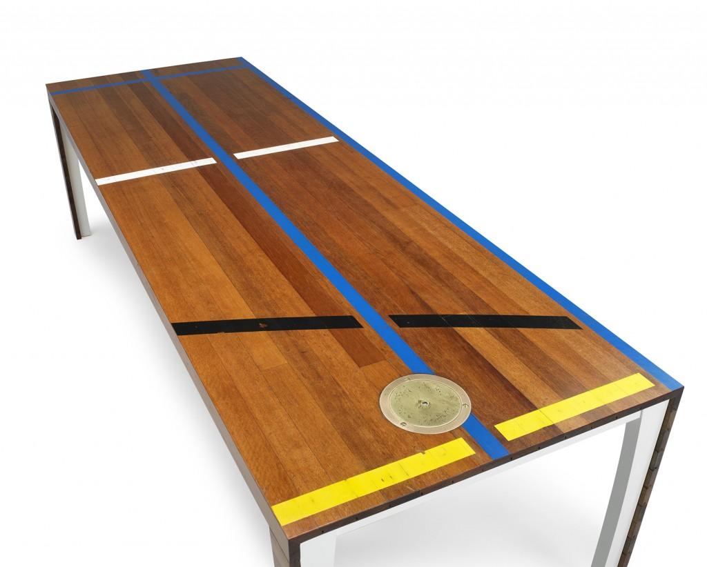 Tisch-Unikat von Atelier Belge - 1968 Menkesdriek