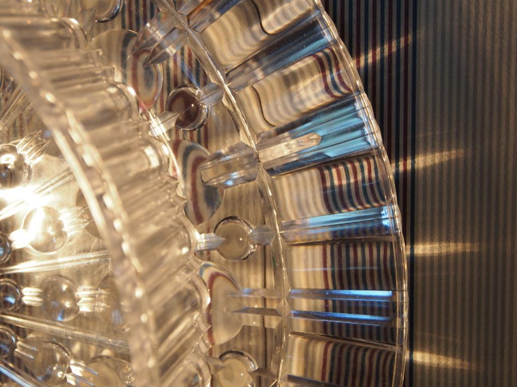 Plastik-Teller im Detail - DIY Lights