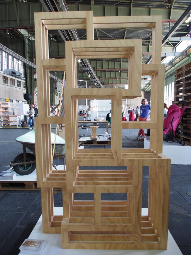 """""""Frames"""" von Gerard de Hoop aud der DMY 2013"""