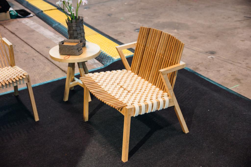 Sessel und Beistelltisch - eine gelungene Kombination