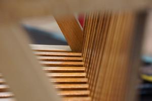 Detailaufnahme Sitzfläche