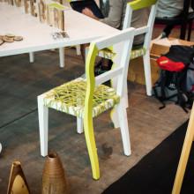 Famos gestricktes Holzmöbel-Design aus Italien